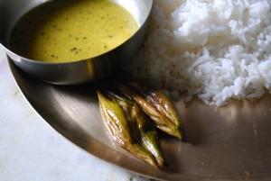 Bhaat Dal Patol Bhaja