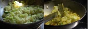 lau chingri preparation