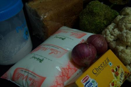 Gratin Ingredients