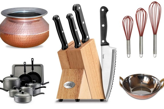 How to cook like a bong part 1 kitchen essentials for Kitchen set items