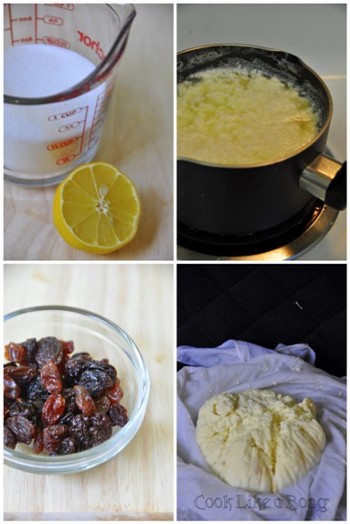 How to make paneer step by step photo
