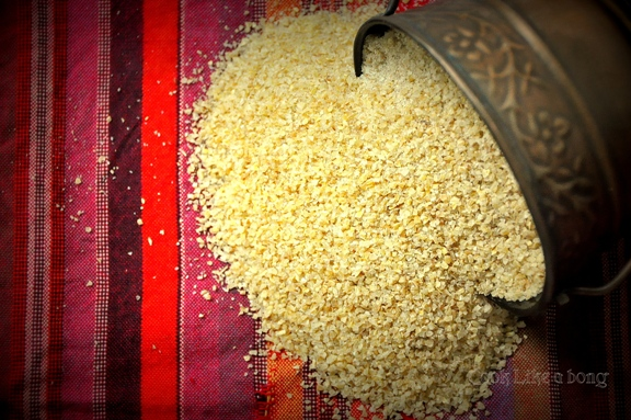Dahliya or Broken wheat