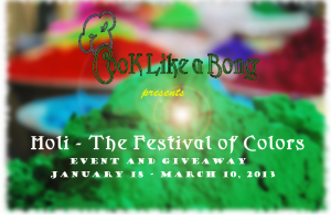 Holi - The Festival of Colors Event Logo