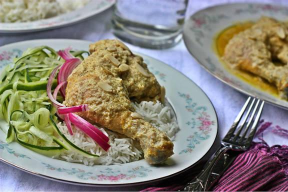 Chicken Korma bangladeshi style