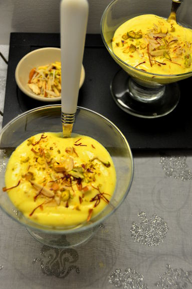Shrikhand Gujrati dessert