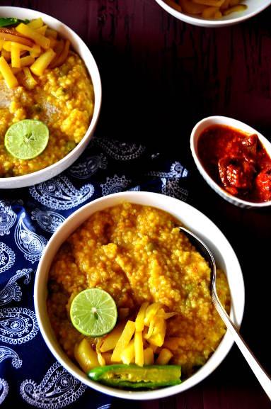 Khichudi with couscous